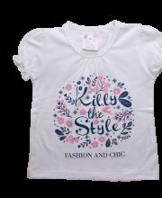 Killy Design barack színű rövid ujjú felső tavaszi mintával. 3 590 Ft. Killy  Design fehér színű tunika virág mintával 71a39f0eed