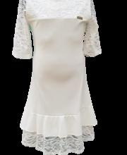 d40e0fe8c6 Killy Design krém színű, csipkés alkalmi ruha